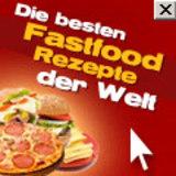 Leckeres Fastfood im Internet
