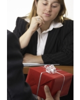 Weihnachtsgeschenke im Job