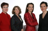 v.l.n.r.: Dr.R.Wolf,A.Bornhütter-Kassen,H.Brüggemann,S.Betz