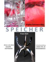 Plakat der neuen Ausstellung Speicher