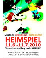Heimspiel in der Galerie Hoffmann