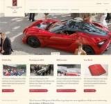 Euroweb hat die neue Website des Concorso d'Eleganza Villa d'Este gestaltet.