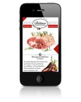 Mobile Website von Euroweb für mittelständischen Fleischerei Fachbetrieb