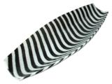 Deko-Schale (30x16 cm) - Handarbeit - Fusingglas