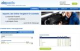 Fahrzeugauswahl bei daparto.de, dem neuen Autoteile-Portal