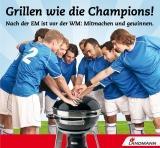 Die Themen Fußball und Grillen stehen im Mittelpunkt der LANDMANN Verkaufspromotion 2012.