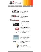 Auswahl der Auszeichnungen für WatchGuard Technologies