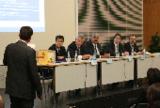 """Thema der Podiumsdiskussion: """"Qualifizierung nach Maß"""""""