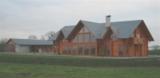 Das Blockhaus im Rohbau