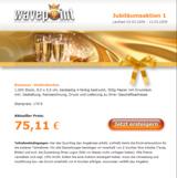 Screenshot der Jubiläumsaktion auf www.wavepoint.de