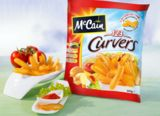 McCain 1•2•3 Curvers bieten kurvig-knusprigen Kartoffelspaß
