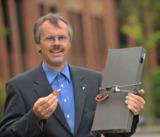 Hans-Joachim Giegerich, Geschäftsführer des IT-Systemhauses Giegerich & Partner in Dreieich