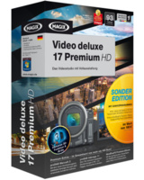 Das Videobearbeitungsprogramm MAGIX Video Deluxe 17 Sonderedition