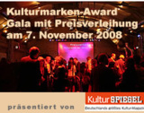Kulturmarken-Award 2008 - Der Kultur-Marketing-Preis