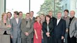 Die Expertenjury des Kulturmarken-Awards 2009 und Eva Neumann und Hans-Conrad Walter von Causales.