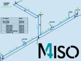M4 ISO stellt aus PTC Creo Piping autom. unmaßstäbliche Rohrleitungsisometrien inklusive Bemaßung