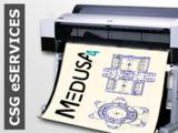 CAD Zeichnungen bequem online plotten mit dem CSG eSERVICES