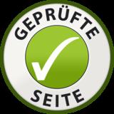 Das Gütesiegel von www.gepruefte-seite.de