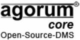 agorum core, das Open Source DMS mit der Laufwerksschnittst.