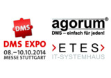 Messe-Highlight auf der DMS EXPO 2014: ETES GmbH stellt agorum® core in der Cloud vor