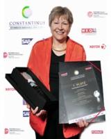 Sieglinde Götze von götze consulting gewann den Constantinus Award - Kategorie Management Consulting