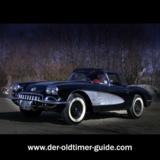 Corvette Baujahr 1959 / Fahrzeug für die Filmaufnahmen