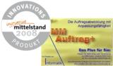 MMAuftrag+ ist Innovationsprodukt 2008