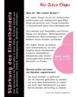 """Shops in Deutschland im Verzeichnis """"Wir lieben Shops"""""""