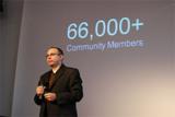Roy Rubin bei der Eröffnungskeynote von Meet Magento 1