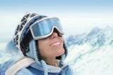 Kontaktlinsen sind die idealen Begleiter auf der Skipiste