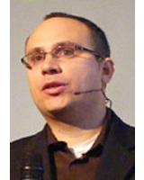 Roy Rubin hält einen Impulsvortrag über Open Source im E-Commerce