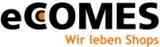 eCCOMES-Logo mit neuem Motto