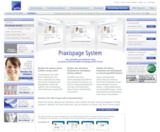 Das Praxispage-System im Internet