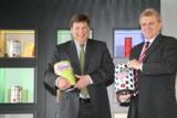 Frank Schulten, Geschäftsführer und Alfred Engel, IT-Leiter der HUBER Packaging Group