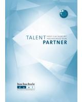 """Unternehmensbroschüre """"Talent-Partner – Direkt zum Talent mit hochschule dual"""""""