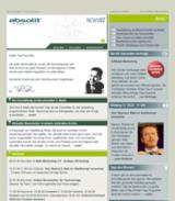 Der absolit-Newsletter im neuen Gewand