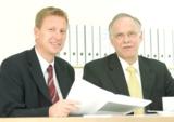 Stefan Schumacher, Rainer Schäfer (v.l.)