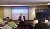 Prof. Dr. Grob beim DataCenter Forum 2008