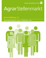 Das neue Journal AgrarStellenmarkt von Proplanta.