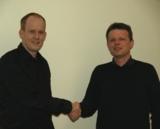 Kooperation: Dr. Jörg Mehrtens (li.) und Steffen Meier (re.)
