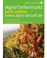 """Titelblatt der neuen Ausgabe des Journals """"AgrarStellenmarkt"""" (Bild: Proplanta)"""