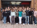 Die Schülerinnen und Schüler der Berufsfachschule