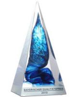 Thomas Krenn erhält Bayrischen Qualitätspreis 2010 verliehen
