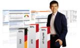 Siegfried Stepke zeigt die Ergebnisse des Webanalyse Report 2009