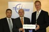 Mehmet Kus, Frank Bittner und Dr. Günther Welsch (vlnr)