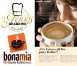 bonamia Kaffee jetzt auch in der Genussakademia Frankfurt
