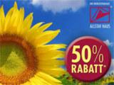 Fertighaus Unternehmen gibt 50% Rabatt auf Energiesparpakete