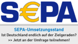 SEPA Umfrage - Use of the SEPA mark is under licence from the European Payments Council AISBL
