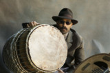 Ritual-Ensemble Leader and Drummer Kahil El'Zabar!