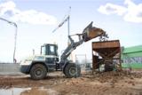 Terex Radlader SKL 260 aus dem HKL MIETPARK im Einsatz in der größten Rüben-Biogasanlage Europas.